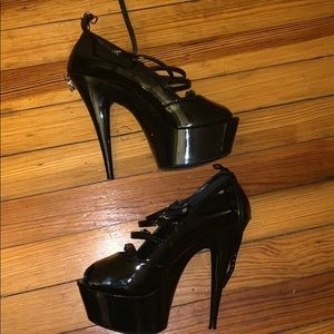 ae9b42bf6f7b Penthouse by Ellie Shoes. Penthouse patent leather stilettos